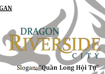 Logo và slogan Dragon Riverside City